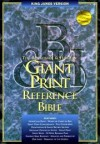 Holman Bible Editorial Staff (Editor) - KJV Giant Print Reference Bible