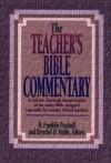 Herschel H. Hobbs, H. Franklin Paschall (Editor) - Teacher's Bible Commentary