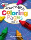 Janet Skiles - Thru-the-Bible Coloring Pages: Ages 3 - 6