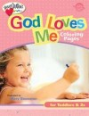 Mary Bausman - God Loves Me Coloring Pages: For Toddlers & 2s