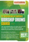 Musicademy - Worship Drums Course: Intermediate Box Set Vol 1-3