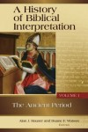 A History Of Biblical Interpretation