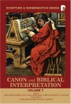 Bartholomew Hahn Et Al - Canon and Biblical Interpretation (Scripture and Hermeneutics Series)