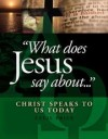 Cecil Price - What does Jesus say about …….? - Christ speaks to us today