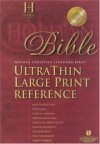 Holman Bible Editorial Staff (Editor) - HCSB Large Print Ultra Thin Reference Bible